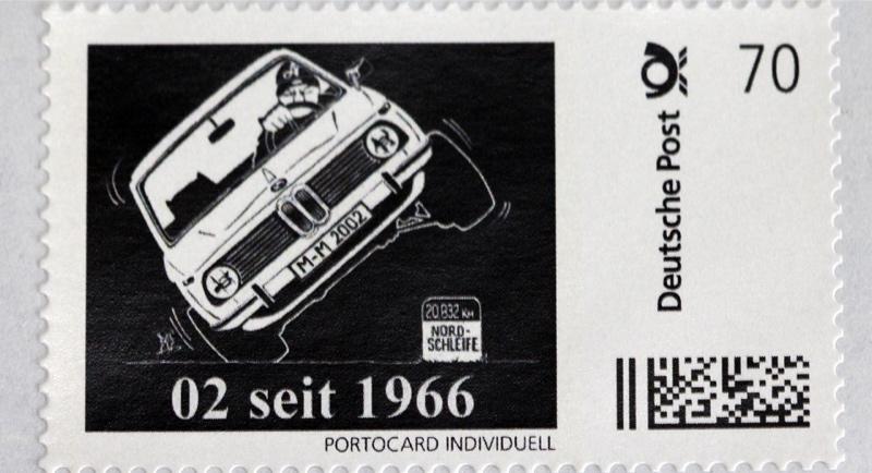 02 seit 1966 stamp Briefmarke Pic02